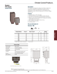 Climate Control Products Heaters PTC Heater Description
