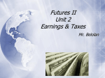 Unit 2 - Earnings & Taxes - Central Columbia School District