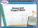 Group and Project Work