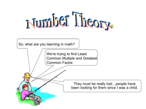 NumberTheory / Microsoft PowerPoint 97