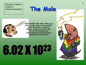 The Mole - BROCHEM