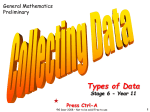 04 Types of Data - Free Resources 4 Mathematics Teachers