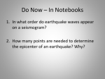 Earthquake Lab Walkthrough