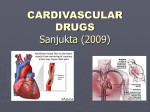 CARDIVASCULAR DRUGS