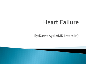 Congestive Heart Failure: From Basics to Recent Advances