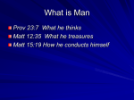 What is Man - Knollwood Church Of Christ