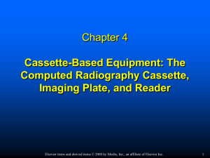 Digital Radiographic Image Acquisition and Processing