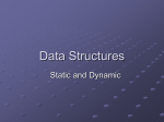 Data Structures Presentation