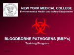 NEW YORK MEDICAL COLLEGE Environmental Health and Safety