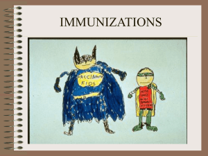 IMMUNIZATIONS - University of Missouri