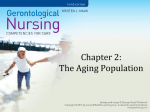 Chapter 2: The aging population