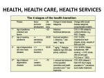 HEALTH, HEALTH CARE, HEALTH SERVICES
