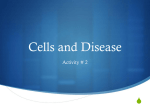 Act_ 2 Cells and disease - Appoquinimink High School