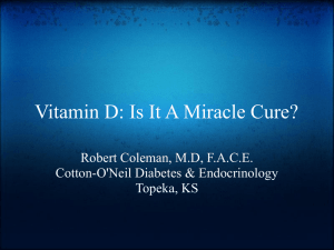 Resurrection of vitamin D deficiency and rickets.
