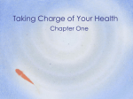 Ch 1 Taking Charge of Your Health