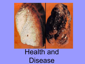 31 Health and Disease