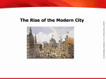 The Rise of the Modern City