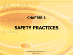 chapter 3 safety practices