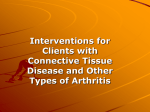 09. Interv for Clients with Connective Tissue Disease