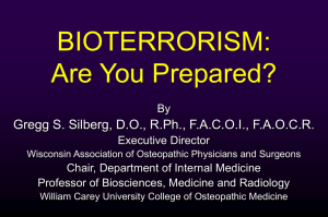 Are you prepared? - Wisconsin Association of Osteopathic