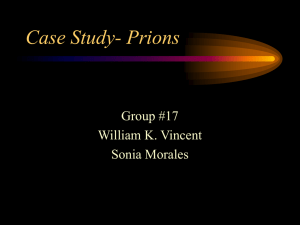 Case Study- Prions - Cal State LA