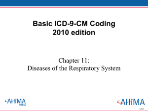 Coding and Sequencing of Respiratory Failure