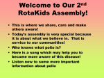 RotaKids Polio Awareness Assembly