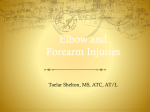 Elbow and Forearm Injuries