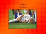 Chapter 14 Knee Injuries