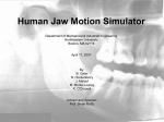 Human Jaw Motion Simulator