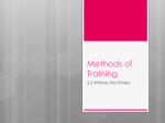 methods of training - Miss McAvoy`s L2 PE Wiki
