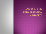 how is injury rehabilitation managed? - Sports-Nerd