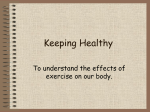 Keeping Healthy - Primary Resources