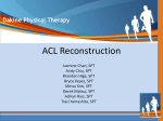 ACL Reconstruction - Dakine Physical Therapy