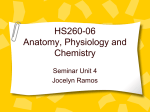 HS260-06 Anatomy, Physiology and Chemistry