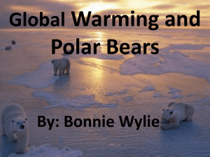 Global Warming and Polar Bears