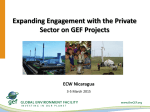 Private Sector Engagement