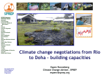 SPREP and it's Climate Change Programme