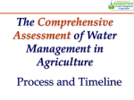 Assuring Water for Food and Environmental Security