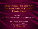 The Imperitives of Climate Change