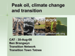 Transition Network - Soil Association Conference