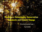 Conservation Easements and Climate Change