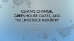Climate Change, Greenhouse Gases, and the Livestock Industry
