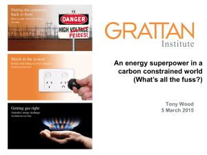 Gathering slides - Melbourne Energy Institute