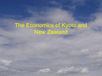 The Economics of Kyoto and New Zealand