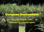 European Environment - Baltic University Programme