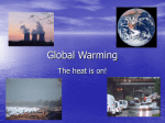 Global Warming - Walker Institute