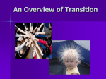 Overview of Transition for Groups