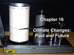 Past and Future Climate change