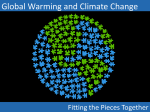 past climates – ice ages signs of global warming